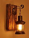 un singur cap de epocă retro industriale din lemn pictura de metal lampă de perete de culoare pentru lumina de perete acasă / transfer