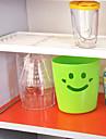 1 bucătărie din plastic multifuncțional pliabil raft pliabil singur strat