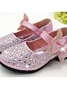 Fete Pantofi Flați Confortabili PU Casual Confortabili Auriu Argintiu Albastru Roz Plat