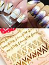 1 Sticker Manucure  Autocollants 3D pour ongles Maquillage cosmetique Manucure Design