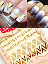 1 3D Nail Stickers Mode Dagligen Hög kvalitet