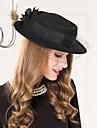 Femei Împletitură Stil Coș Lână Net Diadema-Nuntă Ocazie specială Informal Pălărioare Pălării/Căciuli 1 Bucată
