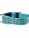 Chat / Chien Colliers Lampe LED / Ajustable / Reglable / Rechargeable Leopard Nylon Rouge / Vert / Bleu