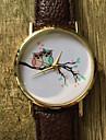 Pentru femei Ceas La Modă Ceas de Mână Quartz / PU Bandă Vintage Casual Cool Bufniță Negru