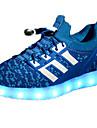 Băieți Pantofi PU Primăvară / Toamnă Confortabili Adidași de Atletism Dantelă pentru Fucsia / Verde / Bleumarin
