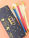 Stilou Stilou Pixuri cu Gel Stilou, Plastic Negru Culori de cerneală For Rechizite școlare Papetărie Pachet de