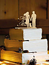 Vârfuri de Tort Temă Flurure Cuplu Clasic Reșină Nuntă cu 1 OPP