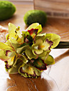 Kunstbloemen 7 Tak Europese Stijl Magnolia Bloemen voor op tafel