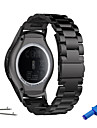 Klockarmband för Gear S3 Frontier Gear S3 Classic Samsung Galaxy Sportband Metall Rostfritt stål Handledsrem