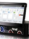 7 tums Android 4.4.4 1 DIN bil dvd-spelare multimediasystem automatisk infällbar skärm löstagbar panel stöldskydd universell dr7090lt