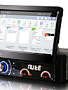 7 inch Android 4.4.4 1 din DVD player auto sistem multimedia cu ecran retractabil automat panou detașabil anti-furt dr7090lt universal