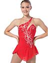 Femme Filles Fille Robe de Patinage Artistique Robe de Patinage Sans Manches Robes Design Anatomique Patinage sur glace Patinage