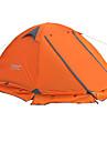 FLYTOP 2 الأشخاص خيمة الكاميرا في الهواء الطلق المحمول مكتشف الأمطار الدفء طبقات مزدوجة خيمة التخييم >3000 mm إلى المشي لمسافات طويلة تخييم السفر PVC أكسفورد