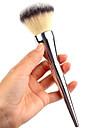 プロ メイクブラシ パウダーブラシ 1pcs プロフェッショナル 人工毛 / 人造繊維製ブラシ 金属 メイキャップブラシ にとって パウダーブラシ