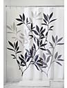 Duschdraperi Nyklassisistisk Polyester Löv Maskingjord