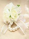 Flori de Nuntă Formă liberă Corsaj de mână Nuntă Petrecere / Seară Dantelă