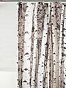 Duschdraperi Nyklassisistisk Polyester Blommig/Botanisk Maskingjord