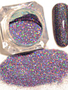 2g Glitter & Poudre Poudre Glitters Classique Haute qualite Quotidien