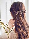 Raptiyeler Saç aksesuarları Metal Alaşımlı alaşım peruk Aksesuarları Kadın\'s 1 adet santimetre