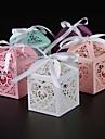 cuboid perla hartie titularul favoriza cu panglici favoarea cutii-25 nunti favoruri