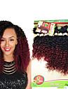 Brasilianskt hår Curly Weave Lockigt Hårförlängning av äkta hår 1 st. 0.2