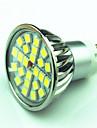 4W 350 lm GU10 LED-spotlights MR16 24 lysdioder SMD 5050 Bimbar Varmvit Kallvit AC220 AC 85-265V