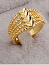 Dame Inel Iubire Inimă Deschis costum de bijuterii La modă Ajustabile Placat Auriu 18K de aur Heart Shape Bijuterii Pentru Petrecere