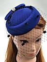 Perle Material Textil Net Diadema-Nuntă Ocazie specială Pălărioare Pălării/Căciuli Voaluri Plasă 1 Bucată