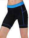 cheji® Vadderade cykelbyxor Dam Cykel Vadderade shorts Underdelar Cykelkläder Snabb tork Andningsfunktion Kompression Bekväm Klassisk