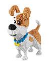 BALODY Blocos de Construir Blocos Militares Conjunto de construcao de brinquedos 2100 pcs Cachorros Diamante Personagem de Filme compativel Legoing Criativo Legal Classico Chique & Moderno Desenho