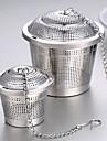 1buc filtru din oțel inoxidabil de ceai sac aromatizat gust supa de ceai pasă