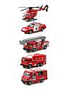 מכוניות צעצוע Playsets רכב רכב מכבי אש מכונית מסוק קלסי ונצחי שיק ומודרני בנים בנות צעצועים מתנות