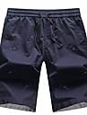 Bărbați Casual Talie Medie,Micro-elastic Drept Pantaloni Chinos Pantaloni Bumbac Vară