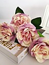 5 Gren Silke Roser Konstgjorda blommor 30