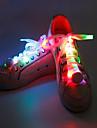 säkerhetslampor LED-armband för jogging Lysande skosnören Kompakt storlek för Camping/Vandring/Grottkrypning Cykling Klättring Utomhus -