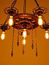6-Light Industrial Lumini pandantiv Lumini Ambientale - Stil Minimalist, 110-120V / 220-240V Becul nu este inclus / 15-20㎡ / E26 / E27