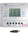 lcd 60a batterie panneau solaire 12v regulateur de charge du regulateur 24v pwm usb