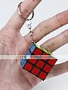 cubul lui Rubik Cub Viteză lină Smooth Sticker arc ajustabil Cuburi Magice Breloc Pătrat Cadou