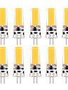 YWXLIGHT® 10pcs 3W 200-300 lm G4 Becuri LED Bi-pin T 1 led-uri COB Intensitate Luminoasă Reglabilă Decorativ Alb Cald Alb Rece AC 12V DC