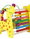 Xilofon Jucărie Abacus Jucării Educaționale Jucarii Multifuncțional Distracție Educație Cerb Girafă De lemn Margele Bucăți de Copil