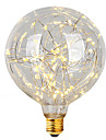 1pcs e27 g95 stea lumina 3w condus becuri filament crăciun șir lumini decorative lumini de vacanță ac85-265v