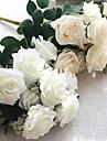 1 ramură Mătase Trandafiri Flori artificiale 45