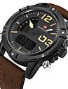 NAVIFORCE Bărbați Ceas Sport Ceas Militar Ceas Elegant Ceas La Modă Ceas Brățară Unic Creative ceas Ceas de Mână Piloane de Menținut