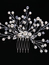 Crystal / Imitation Pearl / Rhinestone Hair Combs with 1 Wedding / Special Occasion / Casual Headpiece