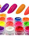 # pulver nagelsglitter gnist & glans neon & ljus högkvalitativ daglig nagelkonstruktion