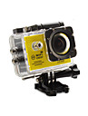 Camera d\'action / Camera sport 12MP 1920 x 1080 Wi-Fi Etanches Capteur G Grand angle Tout en un Ajustable USB 60fps 4X 2 32 Go H.264Prise