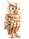 3D Puzzle Jigsaw Puzzle Wooden Puzzle Owl DIY 1 pcs Kid\'s Adults\' Unisex Boys\' Girls\' Toy Gift