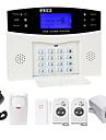 Danmini lcd wirless gsm / pstn acasă casa de birou de securitate sistem de alarmă efracție efracter