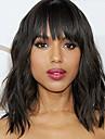 Cheveux Remy Full Lace Perruque Droit 130% 150% 180% Densite 100 % Tissee Main Perruque afro-americaine Ligne de Cheveux Naturelle Court