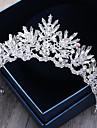 Stras cristal aliaj de cristal-nunta ocazie specială în aer liber tiaras headbands păr pin 1 bucată